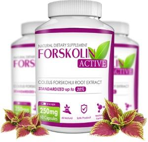 Forskolin Active - Φορσκολίνη