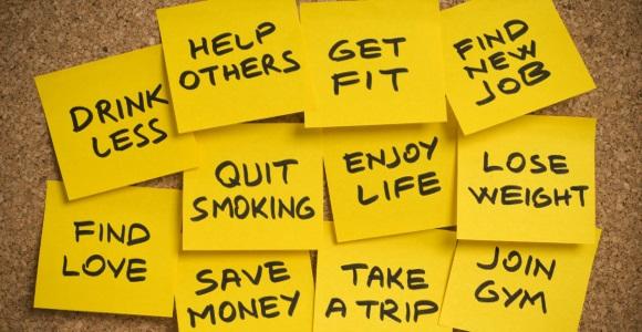 Θα χάσω βάρος... Θα αρχίσω γυμναστήριο... Θα κόψω το κάπνισμα...