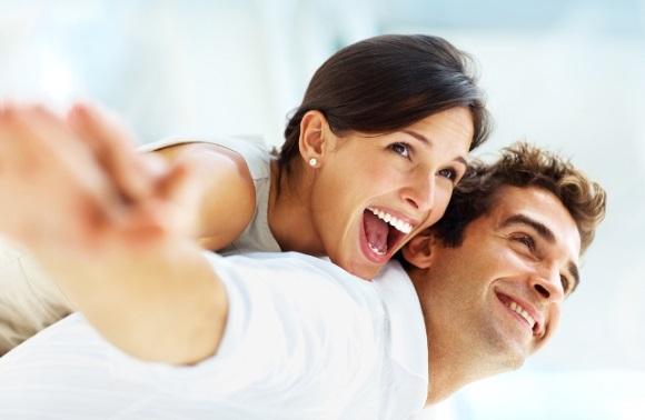 Γυναίκα, άντρας, θετική ενέργεια
