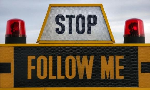 Stop. Follow me!